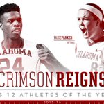 #Sooners sweep Big 12 Athlete of the Year honors ➡️ https://t.co/cc7BYQy0LP #OneOklahoma https://t.co/m7Z3U9wKhb