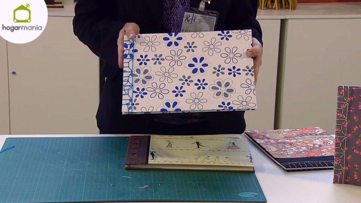Os enseñamos paso a paso a hacer una encuadernación japonesa:  #manualidades