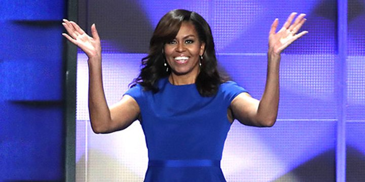 Michelle Obama leads a very stylish