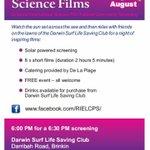 Free #science film in #DarwinNT for @NatSciWkNT @Aus_ScienceWeek. ALL WELCOME! @CDUni @CDUni_VC  @RIELresearch https://t.co/J6kB3PWrXS