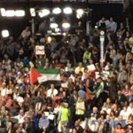 DNC Convention 2016: Soviet Flags, Palestinian Flag – BUT NO US FLAGS https://t.co/BnDR6tL7wu https://t.co/YMBbnOmbHP