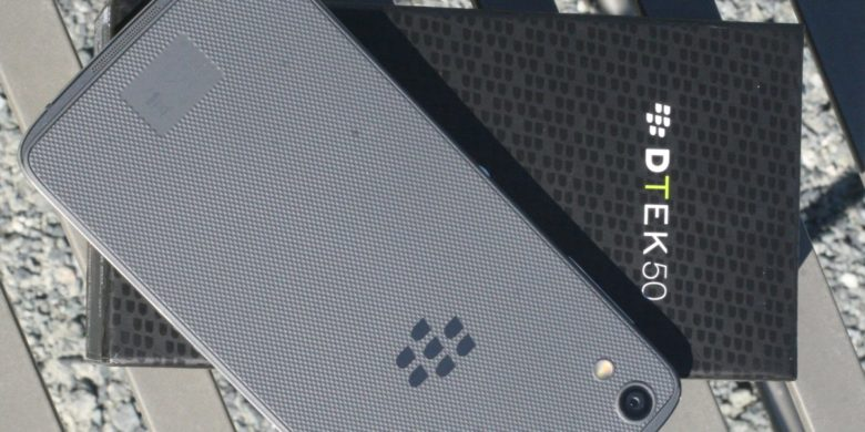 BlackBerry unveils DTEK50 for $299, claims it's 'the world's most secure Android smartphone'