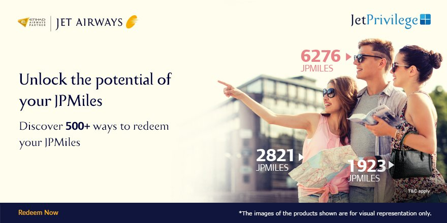Do more with your JPMiles with 500+ ways to redeem them. Discover now:
