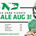 Single-game tickets go on sale in one week on Wednesday, Aug. 3 at 10 a.m. https://t.co/z8LChXWDNq #LeaveNoDoubt https://t.co/JqX9zjEWm0