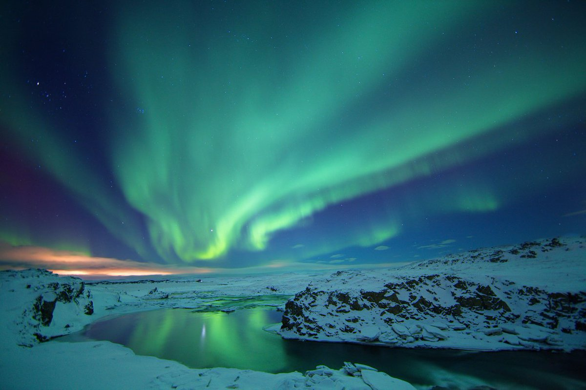 This week - save over $300* Airfare, hotel, hot springs & northern lights tour!  Book now: