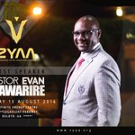 """👏 """"@zyaa15: Such an honor to announce that @PastorEvanLive wil be our guest speaker at our ZYAA Conference thisyear https://t.co/puyKsgFZdC"""""""