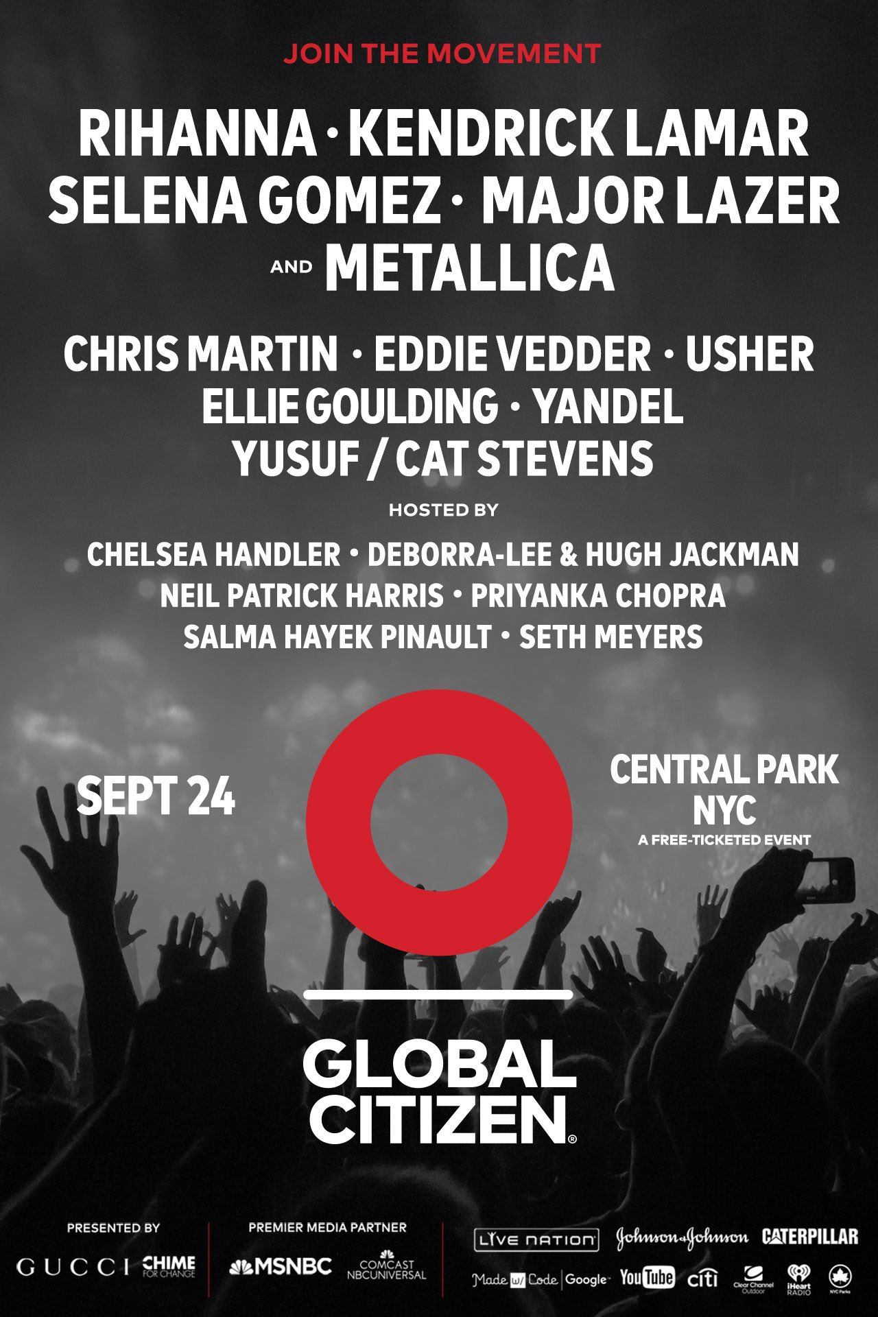 Big news! I'm playing this year's #GCFestival 9/24. Take action to earn your tickets https://t.co/Yxz04A6IcK https://t.co/YIuiG0Uole