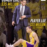 Coach Lue just stepped over his former self 💰 https://t.co/0JUCshIT6k