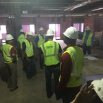 The @OU_Football coaches and staff are touring their new digs for the first time. #Sooners https://t.co/pQos8KnUUn