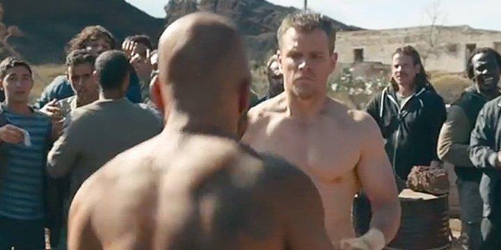 Jason Bourne packs a punch! Watch Matt Damon trade blows in knockout Bourne supercut