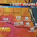 A quick look at the weather. For more weather updates, follow @KRGV_Weather #RGV https://t.co/DmANvF0sTy