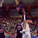 Vince Carter sealed his place in Olympic history after throwing down one of the greatest dunks ever #CountdownToRio https://t.co/UnFFGM7o9M