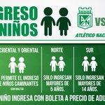 Así será el ingreso de los menores a la Final de la Copa Bridgestone Libertadores. https://t.co/Cd9UPLaEHd https://t.co/EiTYWr9QdD