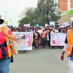 #WOZAs Jenni Williams & Magodongo Mahlangu lead protest against corruption & brutality in Byo #Zimbabwe #ThisFlag https://t.co/M6c05HaJVW