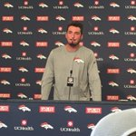 Paxton Lynch speaking at Broncos HQ. https://t.co/IJBSCezVv4