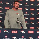 #Broncos rookie Paxton Lynch says it feels good to be back in the building. Excited to start camp https://t.co/4eRrmlCTuD