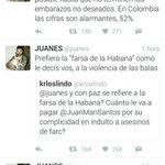 Bravísimo a estos tuits de @juanes sobre el proceso de paz. La tiene muy clara #SíalaPaz https://t.co/dTrPWaBdyH