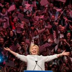 BREAKING: Hillary Clinton becomes first female nominee of a major U.S. political party https://t.co/DK0eYunS9q https://t.co/vB8MunYgl7