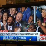 Herstory has been made! #DemsInPhilly #ImWithHer ❤️💋💜💙👠💪👌🏿☺️🍾💥😂👠💚✅ https://t.co/iD0Sfh9Xcy