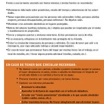 Frente a la advertencia naranja emitida por @MeteorologiaUy , @sinae_oficial recuerda algunas recomendaciones: https://t.co/IUNseAht2u
