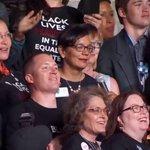 Wyoming delegation wearing #BlackLivesMatter shirts #Demsinphilly https://t.co/PHlNBPBh8F