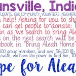 Word about the search for Aleah! https://t.co/HPYdOsyxgq