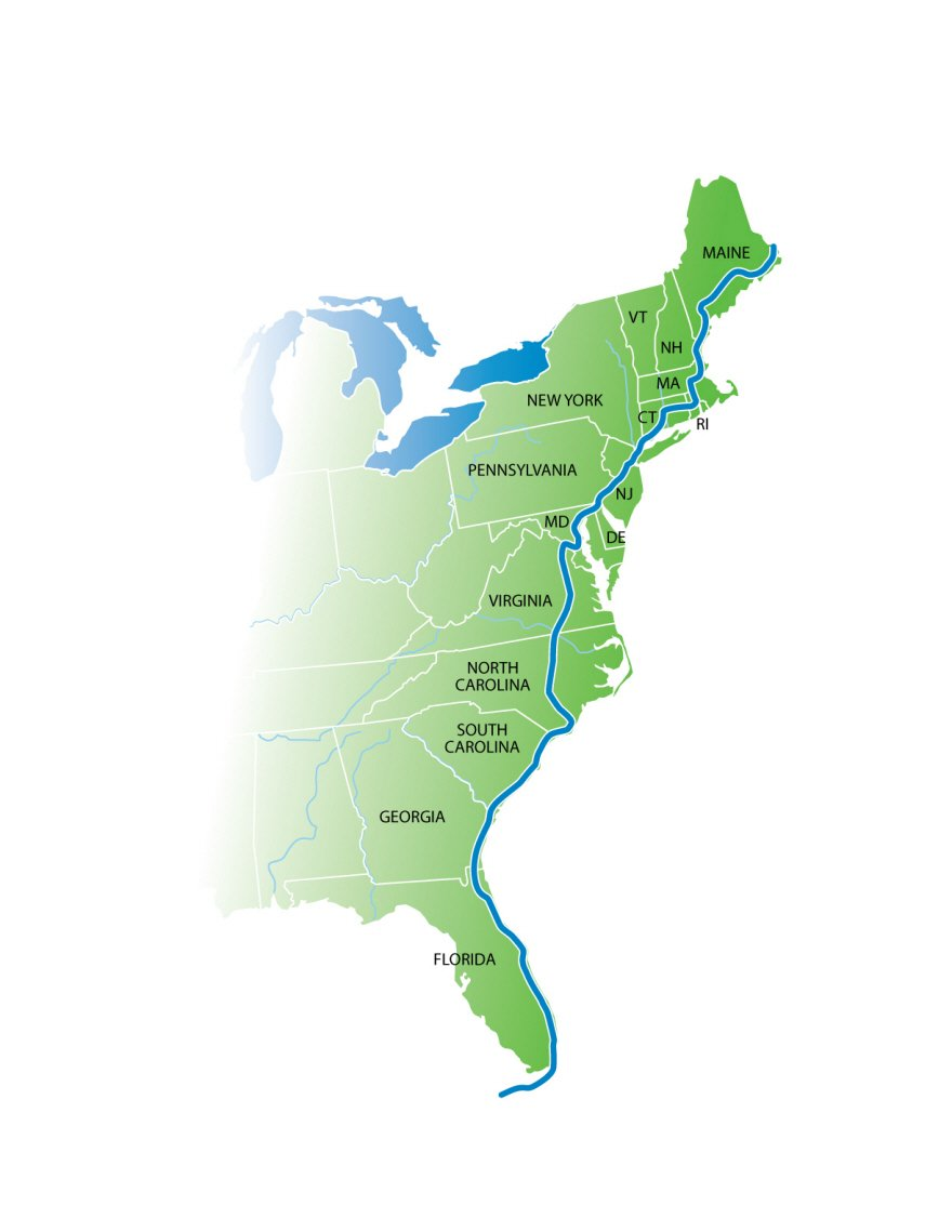 A 2,900-Mile, Car-Free Bicycle Path Running from Maine to Florida is Underway  https://t.co/STDgGZuurz https://t.co/MFFa0u6YxV