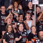 #Wyomings delegation is everything: #BlackLivesMatter on the #DNC floor. https://t.co/z2avP9Gnzo