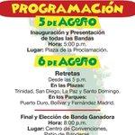 ¡Vamos a fandanguear! 5 y 6 de agosto IV #Festibandas @bolivarsiavanza en @ctgenadeindias. Apoyo artístico #Unibac. https://t.co/G1LXsCR1yR