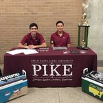 Stop by our table at the org fair, or DM @NicPerez21 for any questions, concerns and information #UNT20 #RushPIKE https://t.co/YRE28P04A7