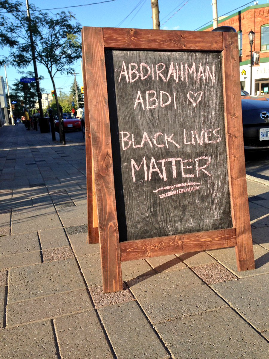 God bless you #Hintonburg. For being just this kind of a neighbourhood. #Remember #AbdirahmanAbdi https://t.co/1CKCh2CXD2