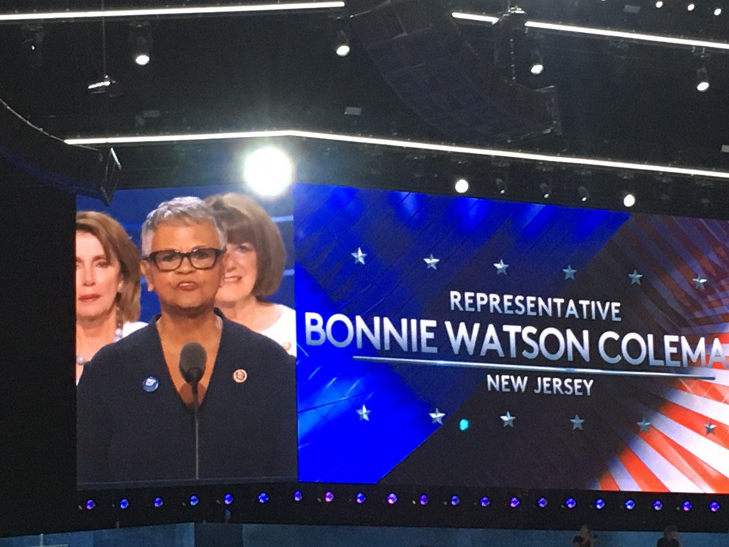 Our AMAZING NJ Congresswoman @Bonnie4Congress Coleman. A true @NJWFA and @WorkingFamilies Democrat! https://t.co/MzCAHf7vnU