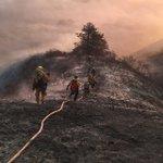 OFD, @AlamedaCoFire @FremontFire @HaywardFireNews working hard to help contain the #SoberanesFire #calfire #oakland https://t.co/DxnHfuKPpU