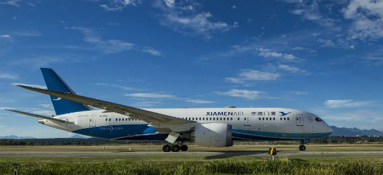 RT @SkiesMag: Xiamen Airlines recently touched down in Canada for the first time @yvrairport