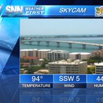 Hot sunshine this afternoon along the #Suncoast. Temps in the mid 90s, stay cool! #Sarasota #Bradenton #VeniceFL https://t.co/Su3iLuFqGR