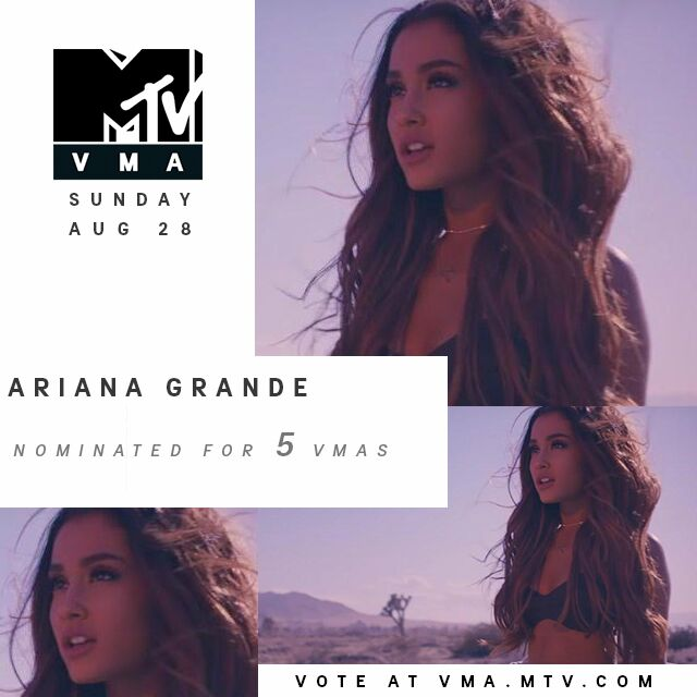 RT @MTV: @ArianaGrande congrats on all of your #vma nominations, princess ???????????? vote here: https://t.co/CGTLSIBpj8 https://t.co/00sXjYOCGa