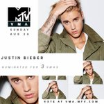 @justinbieber congrats on all of your #vma nominations, justin! 😻 vote here: https://t.co/CGTLSIBpj8 https://t.co/qzixaIlgno