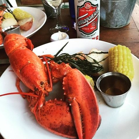 A cold can of @Gansettbeer is perfect for #Lobsterpalooza. Find them in the East Village tomorrow (