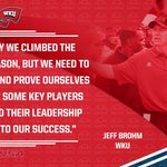 #CUSAkickoff 🎙: @WKUFootball head coach Jeff Brohm https://t.co/8MyYjXi3OA