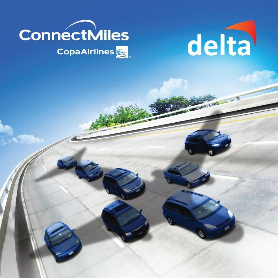 Con tu tarjeta MAXI Flota ConnectMiles de @PetroleosDelta gana 1 milla por galón consumido