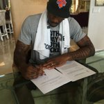 """.@Amareisreal is retiring a Knick: """"My heart had always remained in the Big Apple."""" #CongratsSTAT https://t.co/36urYziiw8"""