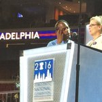 The most nominated Academy Award actor of all time, 3 time Oscar winner Meryl @MaryJStreep #DemsInPhilly https://t.co/OaNaN5rzyu