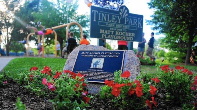 The playground at Pottawattomie Park has been named in Matt Kocher's memory https://t.co/WiXGhKkD3k https://t.co/bPD13uJ6sT