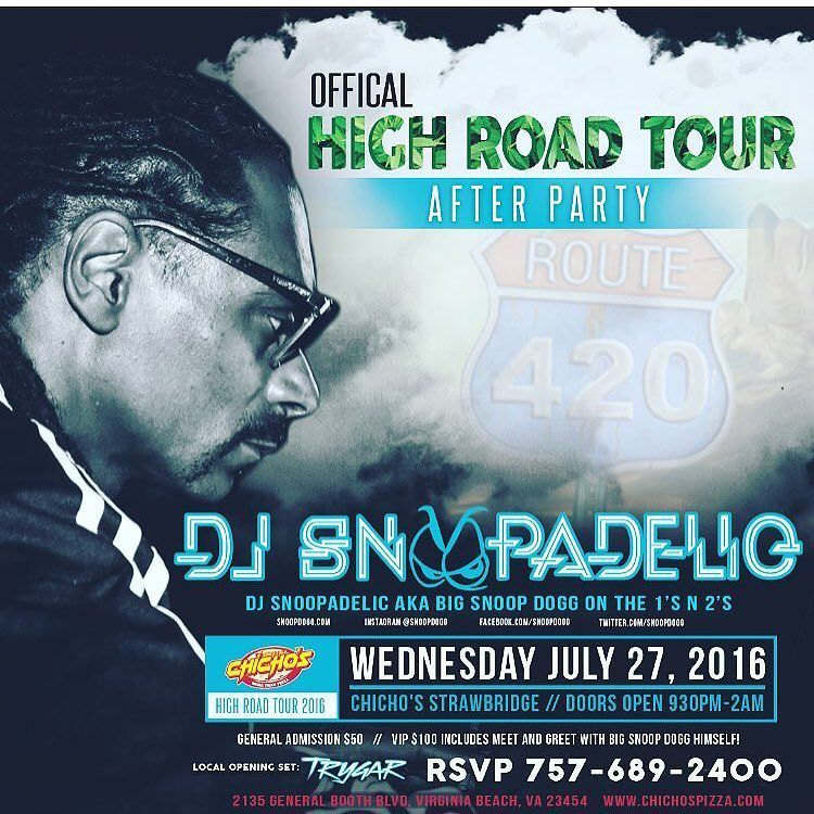 TOMORROW NITE - VIRGINA BEACH VA - Point Seen Money Gone Production - DJ SNOOPADELIC feat … https://t.co/aZrSJOCIWB https://t.co/RAVm3VfnUl
