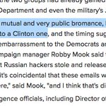 This is an actual thing NBC News reported to prove a Trump-Putin #DNCLeaks link: #bromance https://t.co/FGzGTCWXdg https://t.co/zbXsOLvEvk