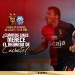 """#EP """"Cachete"""" Zúñiga reaparece este sábado en Melgar: """"¡Desde temprano al estadio, que… https://t.co/rbC3bgVfBU https://t.co/rv7FBb0cXN"""
