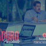 Hoy #ContactoConMaduro61 avanzando desde la Cultura y la Educación en la Identidad y la Espiritualidad de la Patria. https://t.co/3OXhYgBhXo