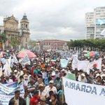 Miles de campesinos exigieron hoy el cese de la corrupción https://t.co/JsoTiRbcuf https://t.co/blp3DyqGCJ