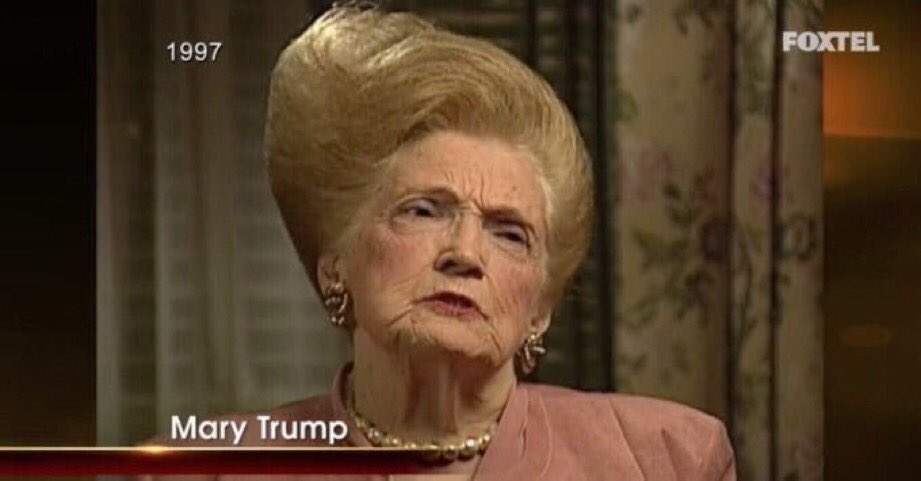The hair, like the money, was inherited: https://t.co/HtlYUgXGQE