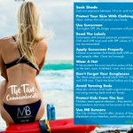 Before you hit the beach this week, take a look at The Tan Commandments #SunSafety https://t.co/jptipu6Qdn